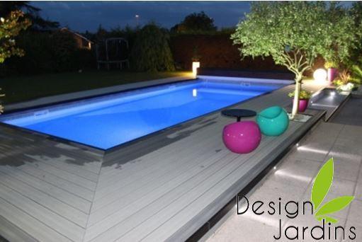 plage de piscine composite design | Déco | Pinterest | Plage de ...