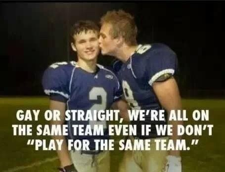 Play for the same team