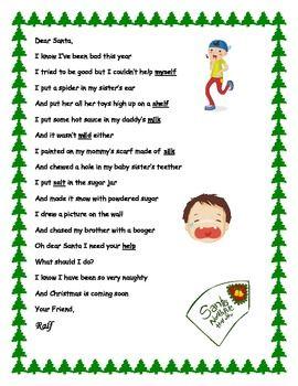 Finals Week Christmas Poem : finals, christmas, Christmas, Final, Consonant, Blends, Poems,, Blends,, Reading, Words
