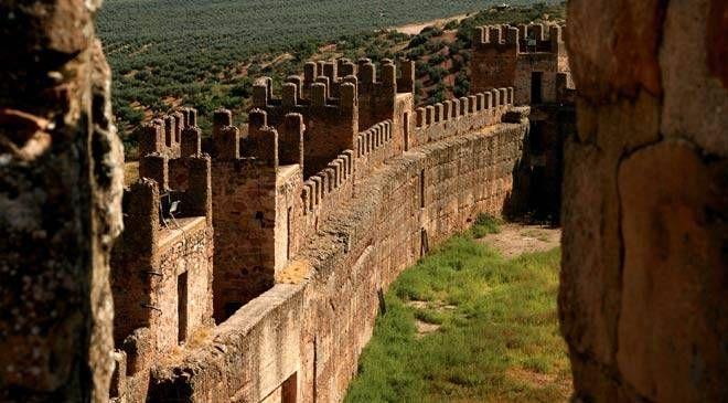 Castillo De Banos De La Encina Jaen Castillos Monumentos Jaen