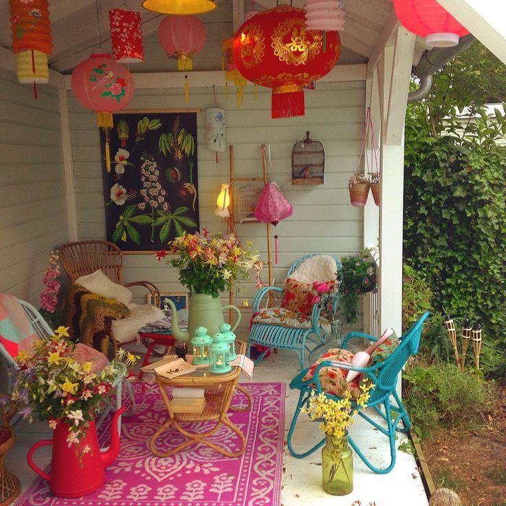 Image result for hippie tropical veranda decor - Decoracion hippie habitacion ...