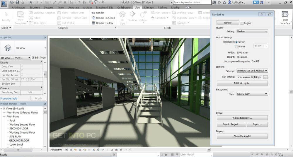 Autodesk Revit 2017 64 Bit Setup Direct Link Download