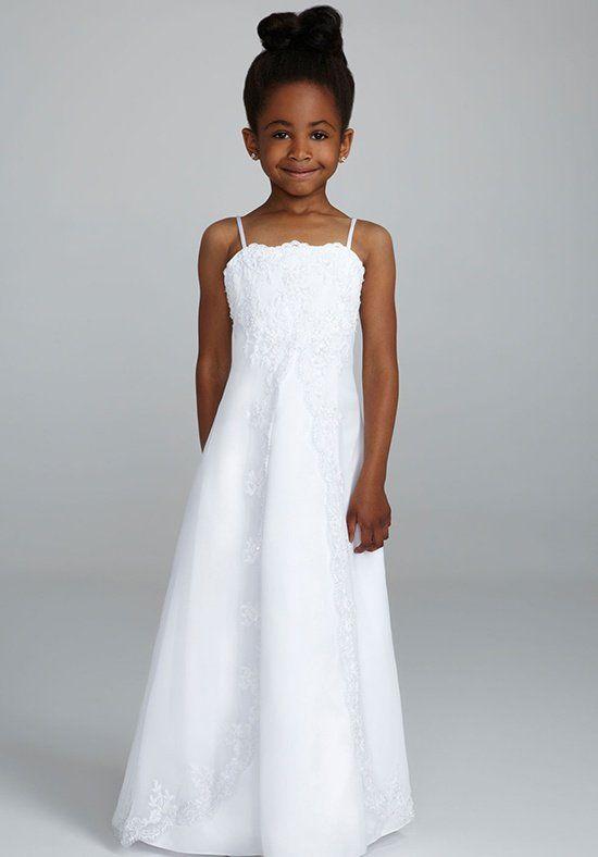 6fdccdd87f7 David s Bridal Juniors H8475 Flower Girl Dress - The Knot