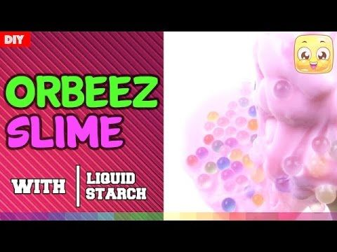 How To Make Orbeez Slime Without Borax Or Tide Diy By