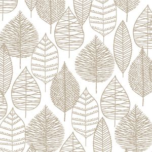 Eloise Renouf - Bark and Branch - Line Leaf in Grey