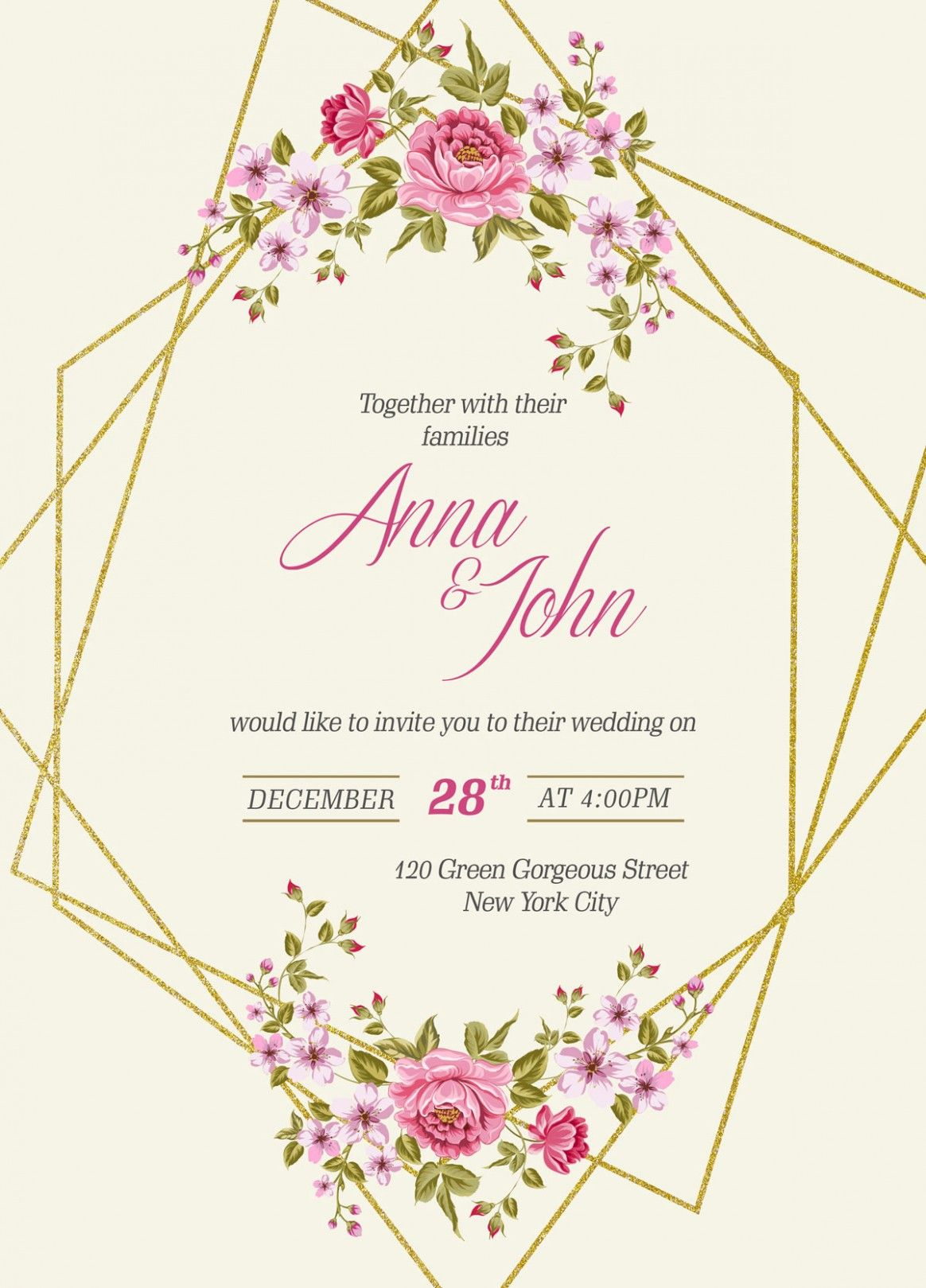Wedding E Card Template Free Download Is Wedding Wedding Invitations Printable Templates Free Printable Wedding Invitations Free Wedding Invitation Templates