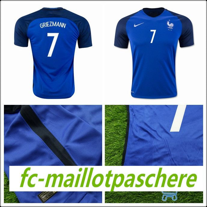La boutique tee shirt foot France Griezmann Euro 2016 2017 domicile officiel