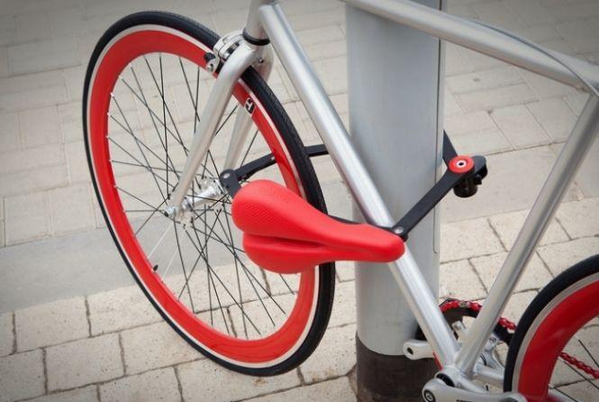 Projeto Transforma Banco De Bicicleta Em Trava Design De