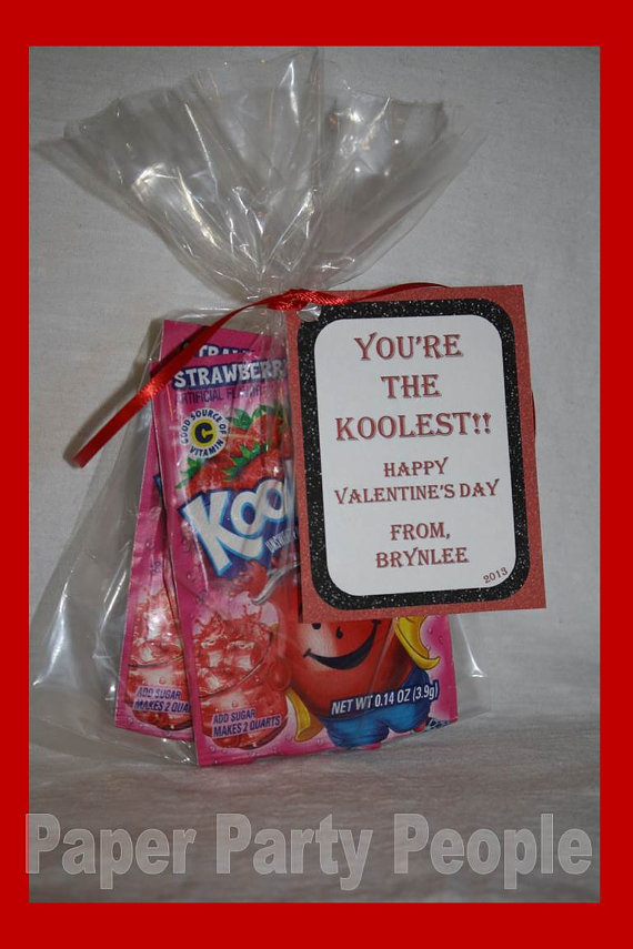 Valentine S Day Class Party You Re The Koolest Printable Diy Treat