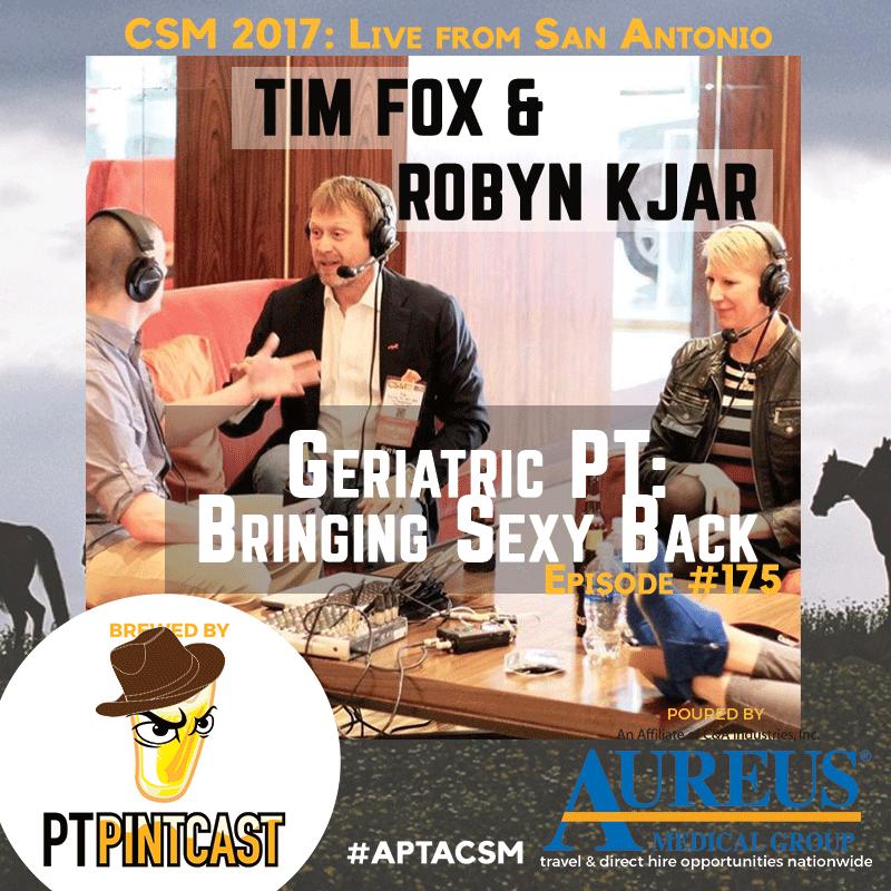 FOX Founder & CEO Dr. Tim FOX & COO Dr. Robyn Kjar spoke with PT Pintcast!