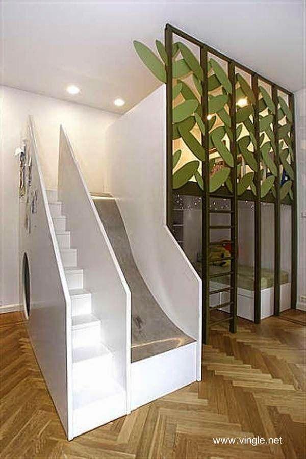 Instalaci n en un cuarto infantil cuarto ni os - Habitaciones con escaleras ...