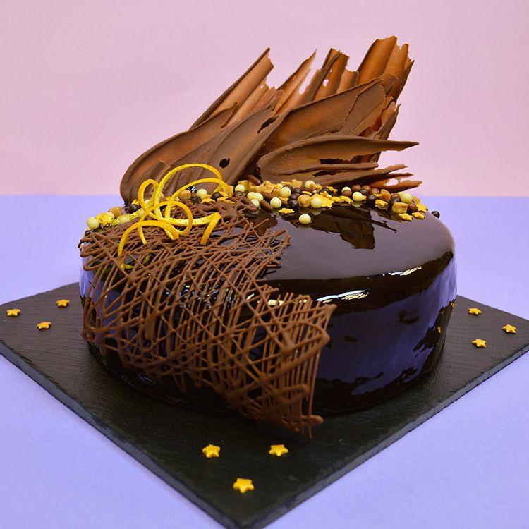 Photo of Mirror glaze Torte: Rezept für leckeren Spiegelkuchen