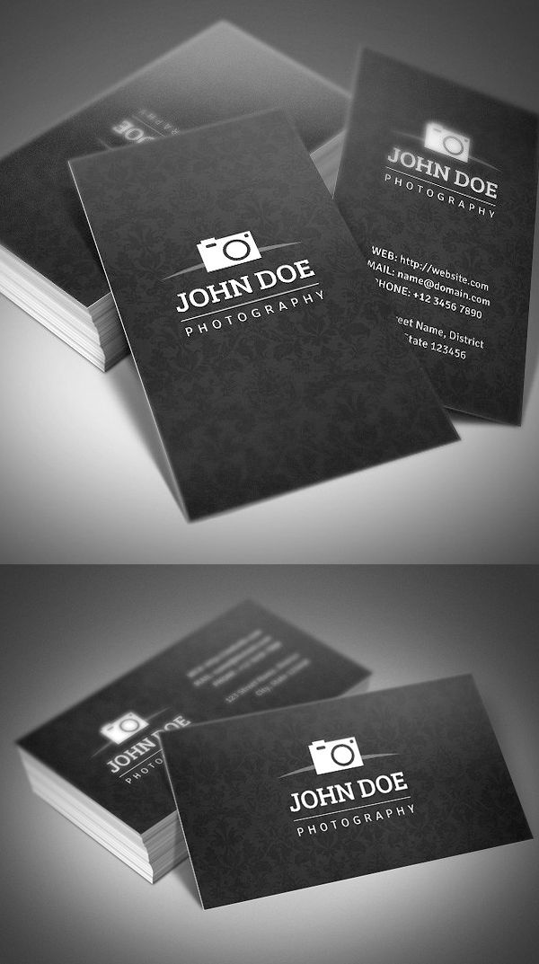 Creative Photography Business Cards Design Graphic Design Junction Photography Business Cards Template Photography Business Cards Business Card Design Photography