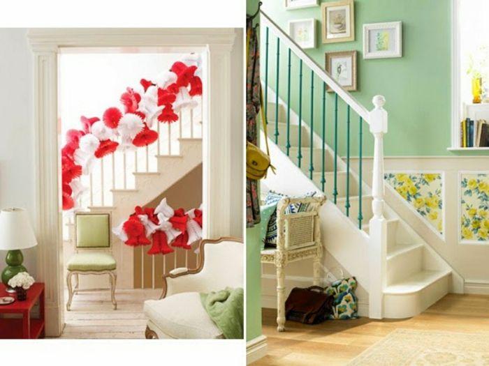 Treppenhaus nach außen verlegen  ▷ 1001+ Ideen für Treppenhaus dekorieren zum Entnehmen ...