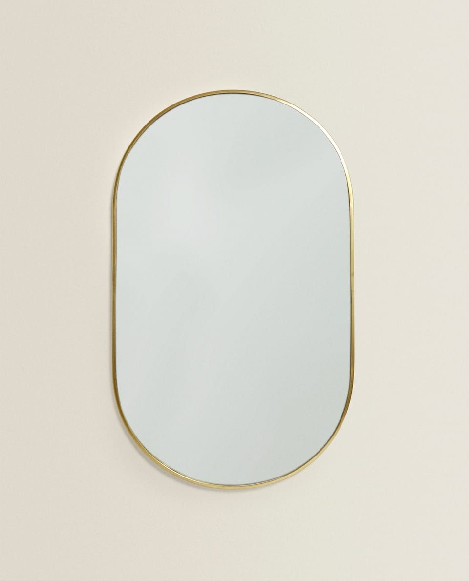 Gold Frame Mirror Mirrors Bedroom Zara Home United Kingdom
