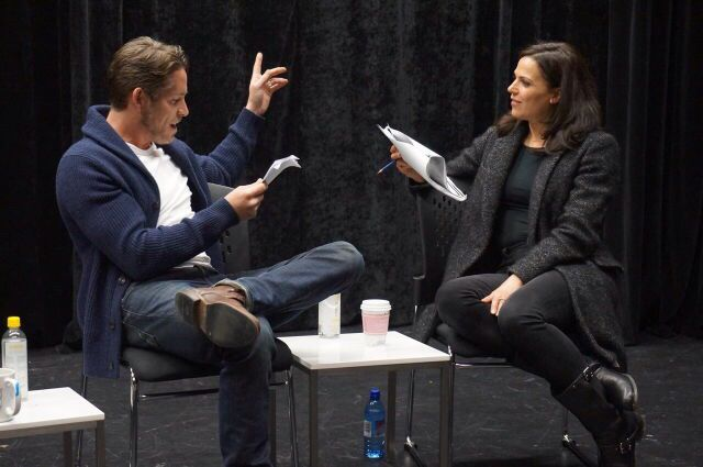 Sean & Lana at the Vancouver Creative School - March 22, 2015