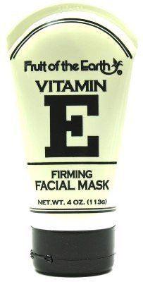 Fruit Of The Earth Vitamin E Facial Mask Firming 4 Oz Case Of 6 By Fruit Of The Earth 63 99 Facial Masks Vitamin E Natural Moisturizer
