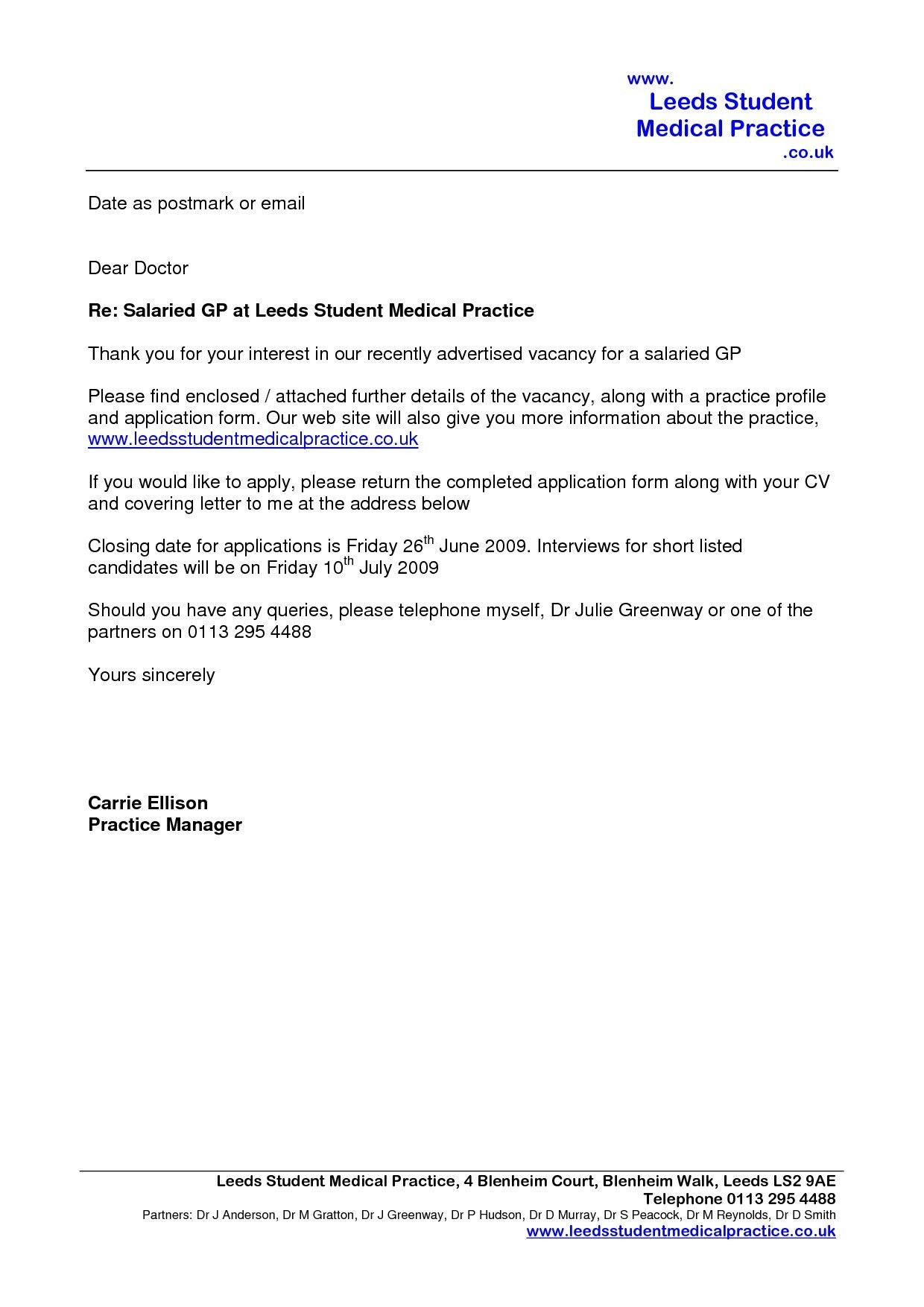 Email Cover Letter Template Uk Cover letter for resume
