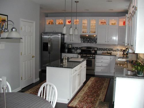 Eliminate The Awkward Space Above Cabinets By Adding A Second Row