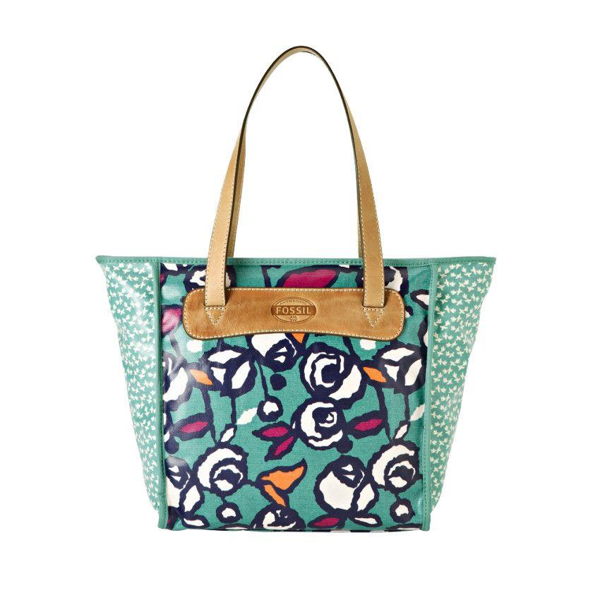Fossil Handbag Silhouettes Tote Handbags Key Per Zb5605