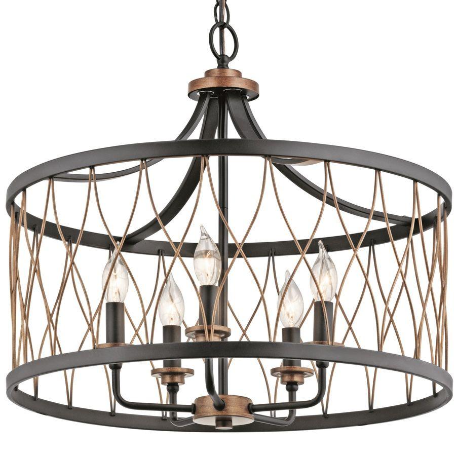Kichler Lighting Crossburg 1772in OilRubbed Bronze Vintage – Outdoor Chandelier Lowes