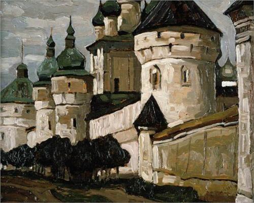 Nicholas Roerich - Rostov the Great