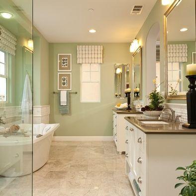 bathroom Home Decor Ideas Pinterest Big bathrooms, Hamptons