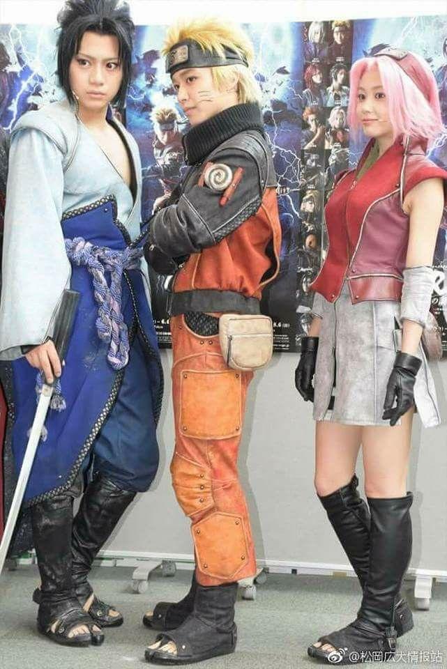 Team 7 Cosplay Naruto Sasuke Sakura Naruto Cosplay