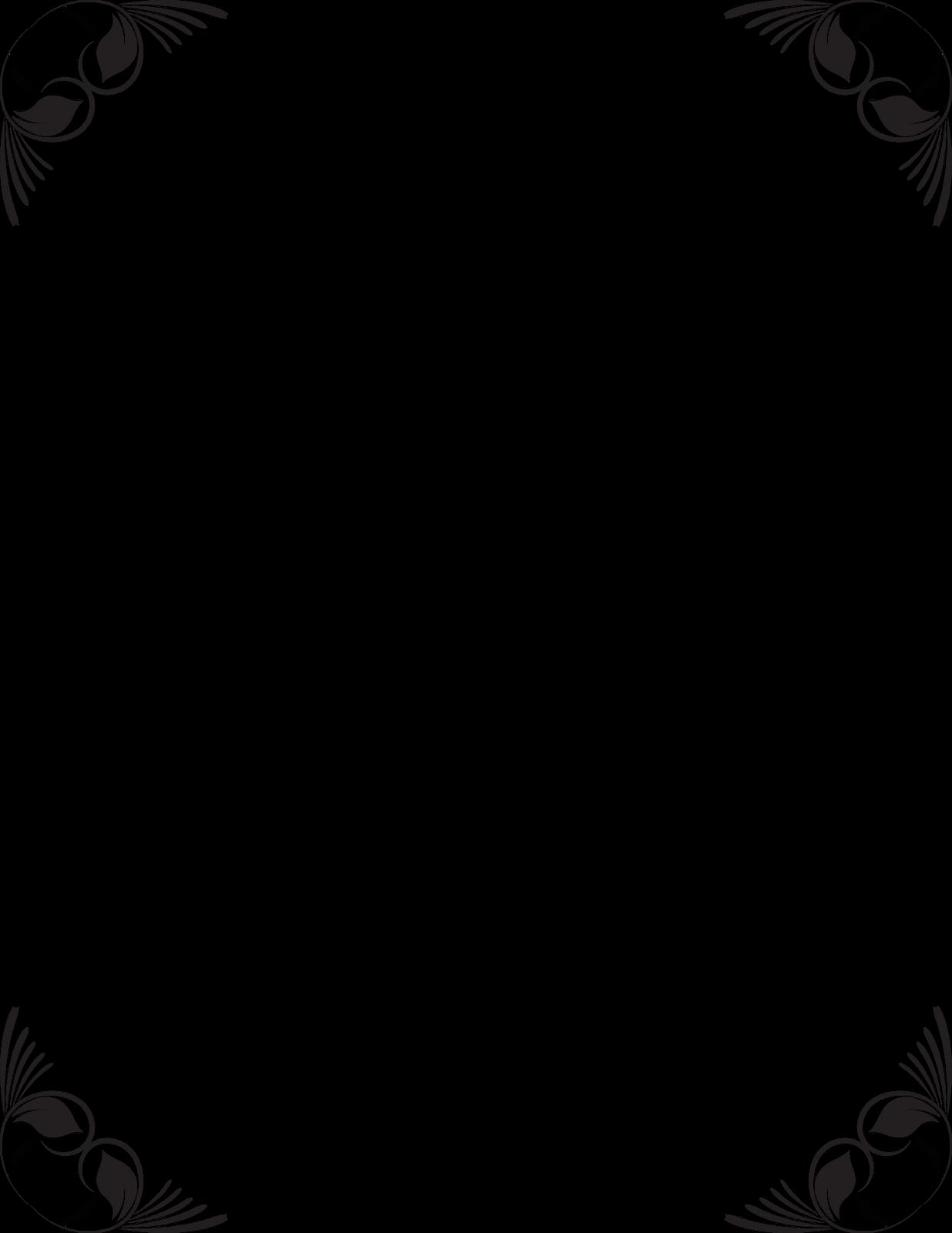 Flower frames design black and white viewframes flower frame black and white google search molduras marcos y mightylinksfo