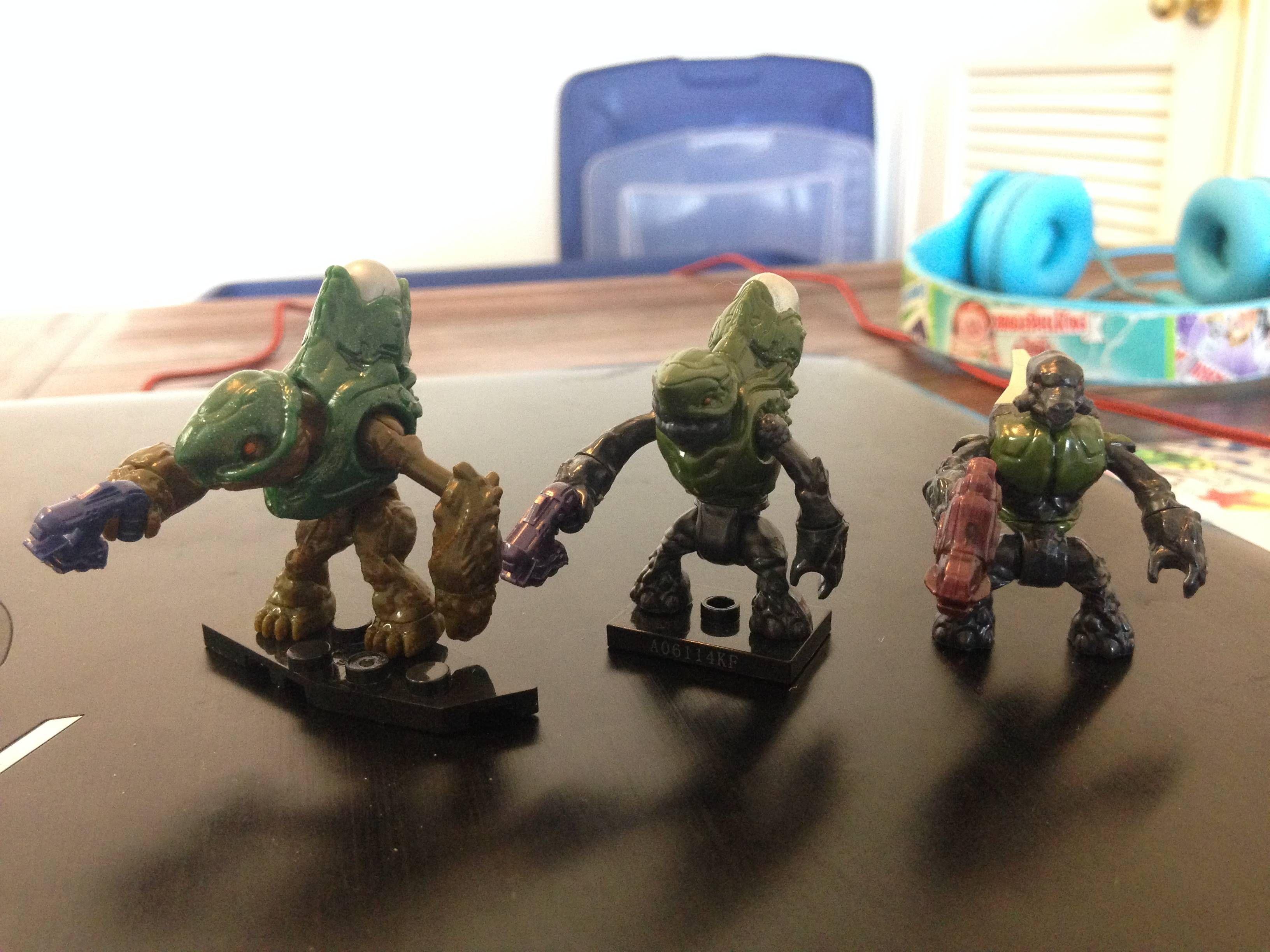 Evolution in halo grunt toys Halo grunt, Halo, Pc gamer