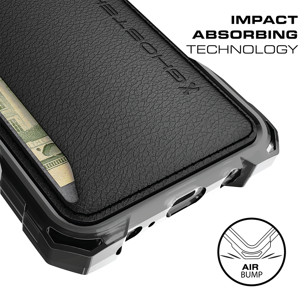 black credit card #credit #card #creditcard Galaxy S8 Wallet Case, Ghostek Exec Series for SamSung Galaxy S8 Slim Armor Hybrid Impact Bumper | TPU PU Leather Credit Card Slot Holder Sleeve Cover | Shatterproof Screen Protector (Black) 3 Pocket Wallet (For Your Credit Cards, IDs amp; Cash) Touch ID Compatible Includes Soft Screen Protector Easy Access to All Buttons, Controls, Camera, Speaker amp; Microphone.