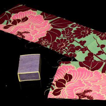Japanilainen vintage silkkikangas