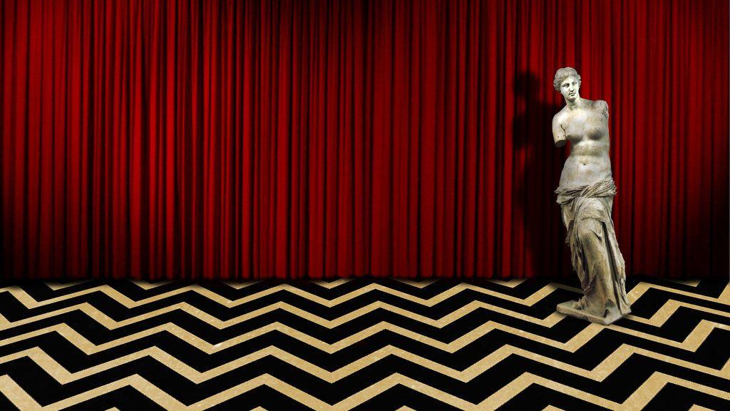 Twin Peaks Red Room Statue