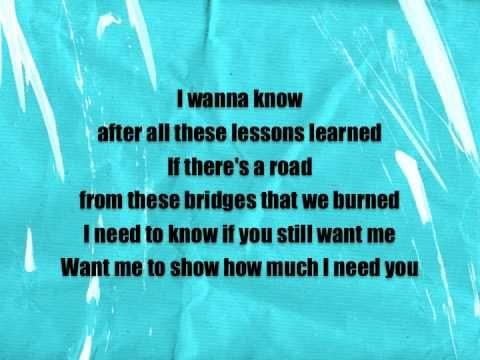 10 Years Don T Fight It Lyrics Video Amaaaaaazing Song Lyrics I Need To Know 10 Years