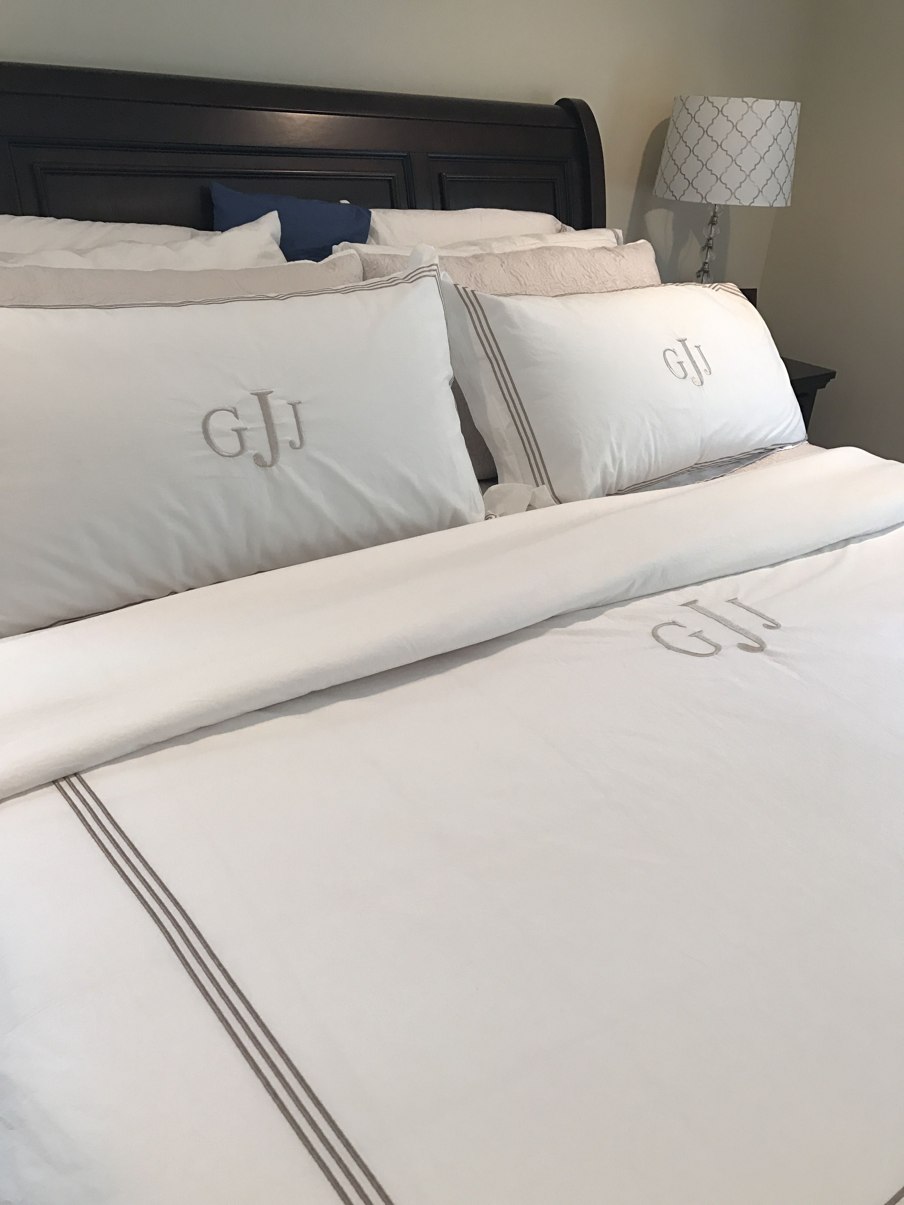 I Have Layers Of Cotton Sheets And Personalized Duvet Cover From