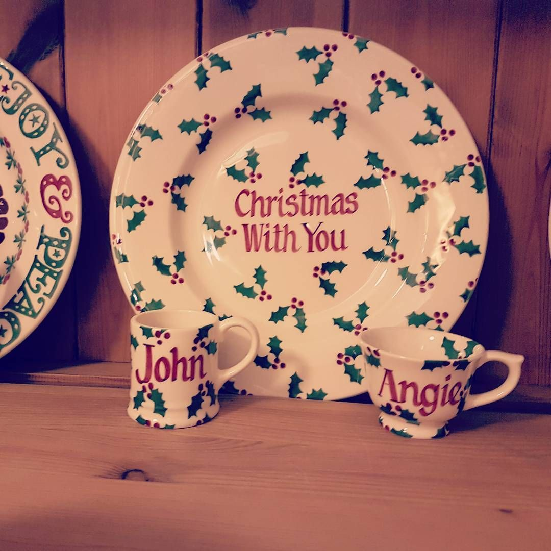 Personalised Little Holly 8.5 inch Plate, Tiny Mug and Tiny Cup 2016