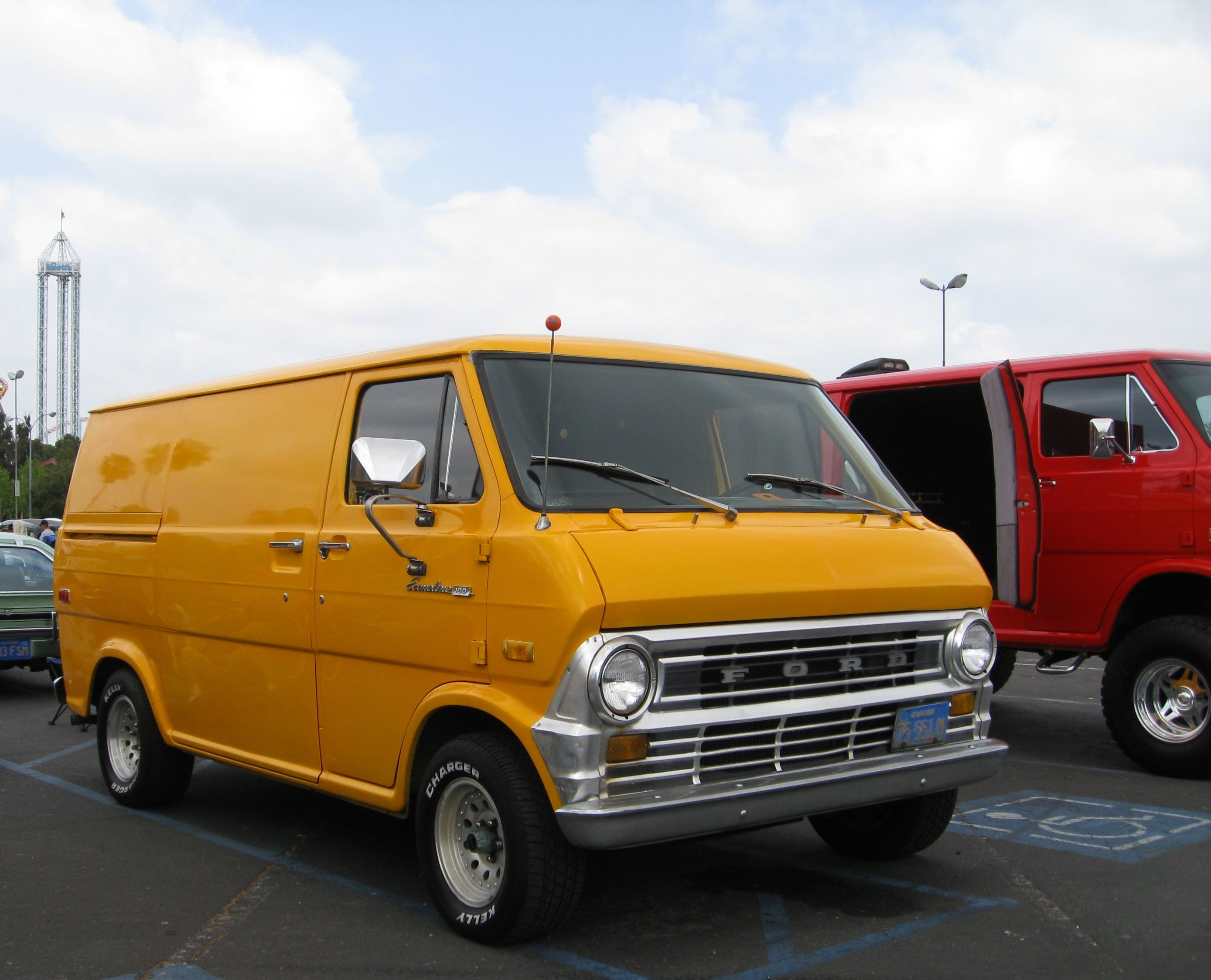 1973 Ford Econoline I Had One Very Much Like This With A 302 And