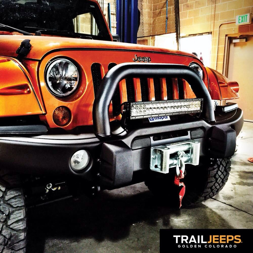 AEV Premium Front Bumper With An E Series 20