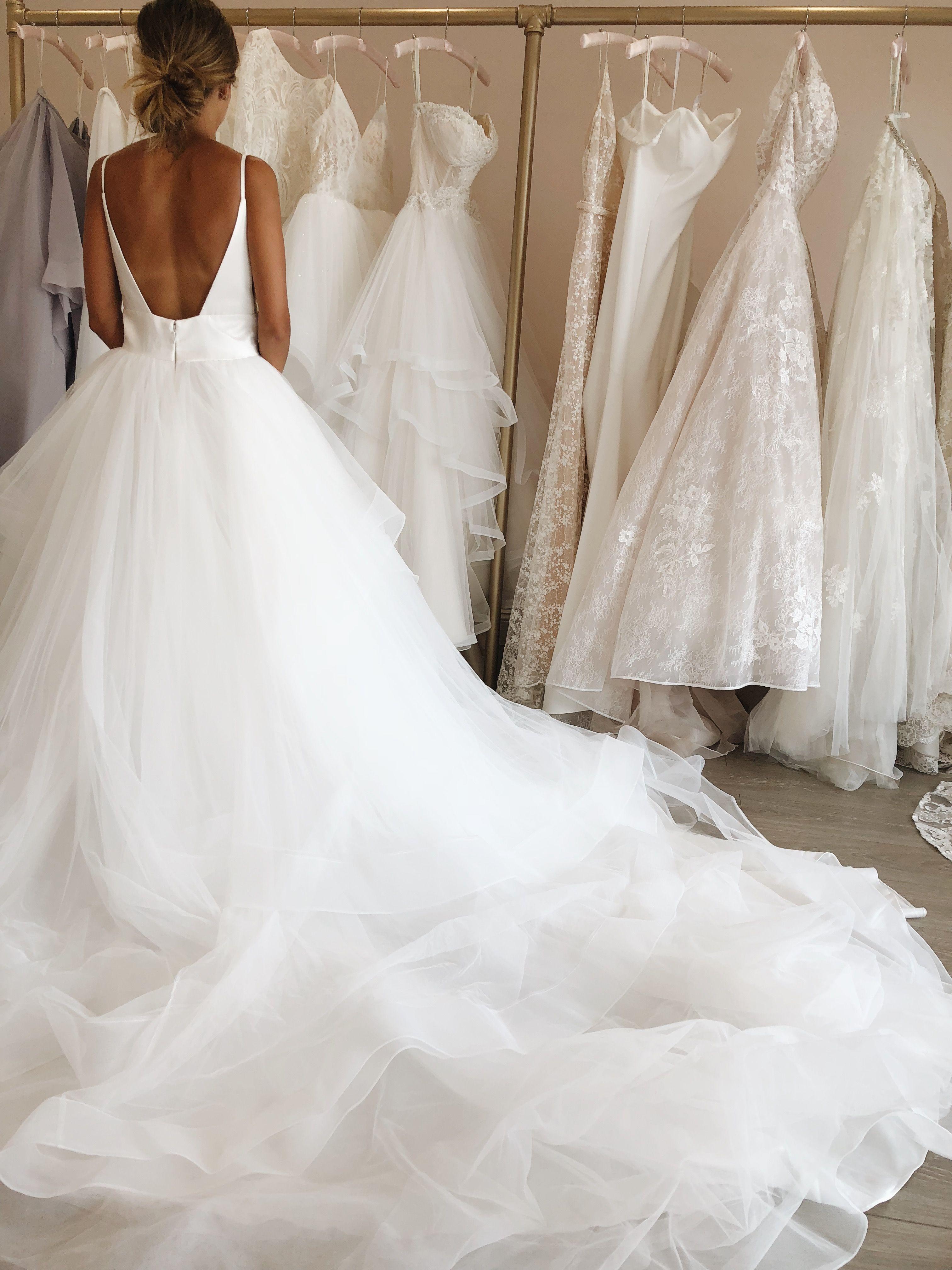 The Tatum Dress   Wedding dress low back, Wedding dresses, Wedding ...