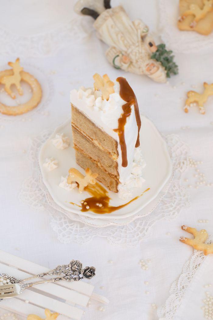Eierlikor Torte Mit Gebraunter Butter Safran Karamell Und Viel Liebe Rezept Kuchen Ideen Backideen Karamell