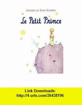 The Little Prince French Pdf