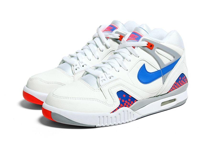 #Nike Air Tech Challenge II Pixel Court #sneakers