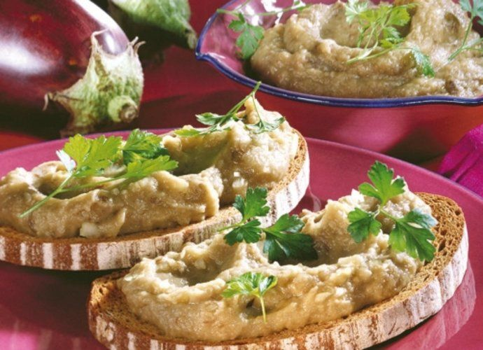 Mousse de berenjena para #Mycook http://www.mycook.es/cocina/receta/mousse-de-berenjena