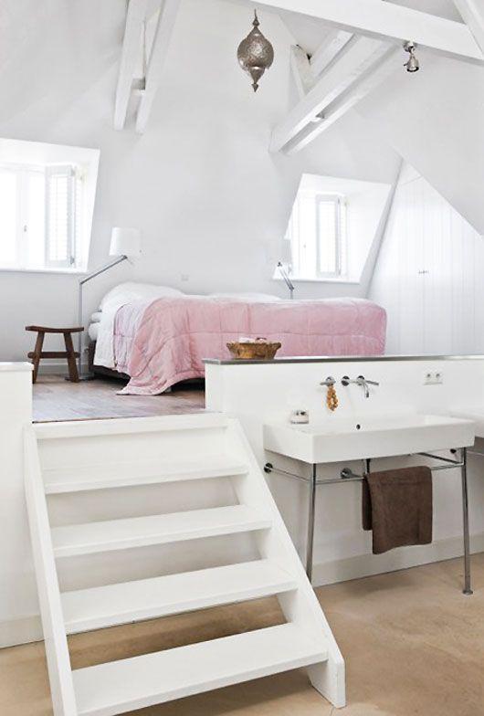 loft slaapkamer zolder droom slaapkamer slaapkamer slaapkamerdecoratie verhoogde slaapkamer zolderkamer