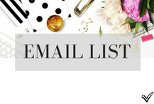 Ideas to create a solid email list of potential customers/clients.