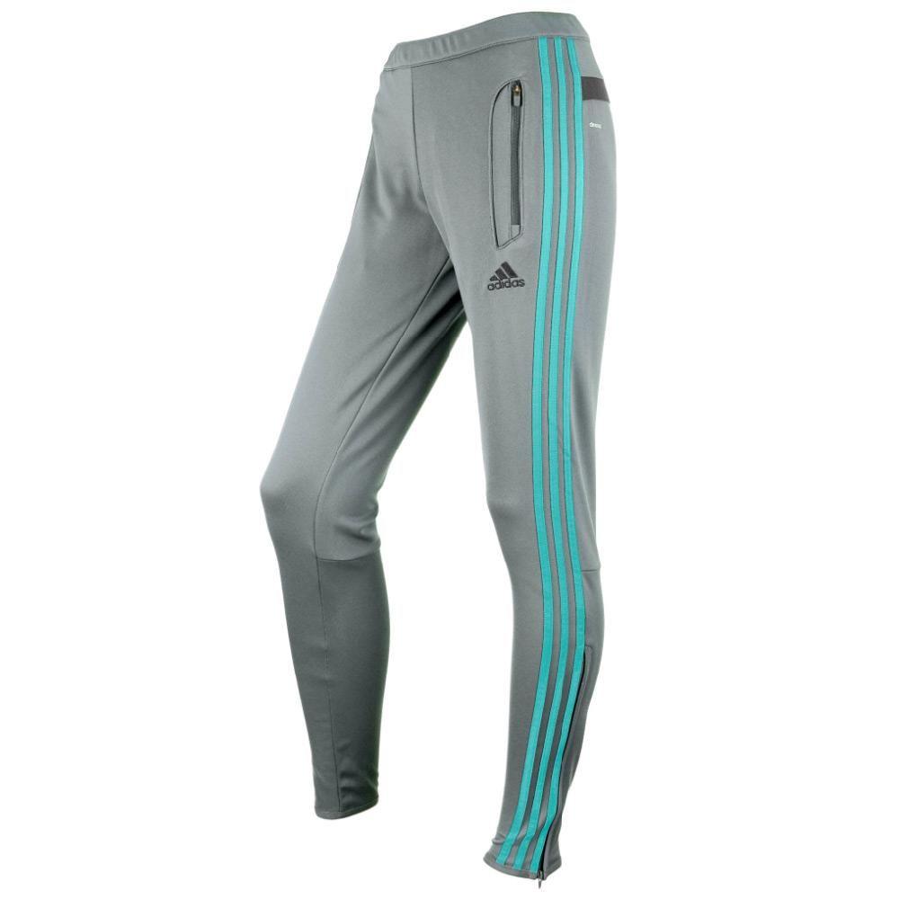 adidas Women's Tiro 13 Pant - Grey / Mint - Women's Soccer