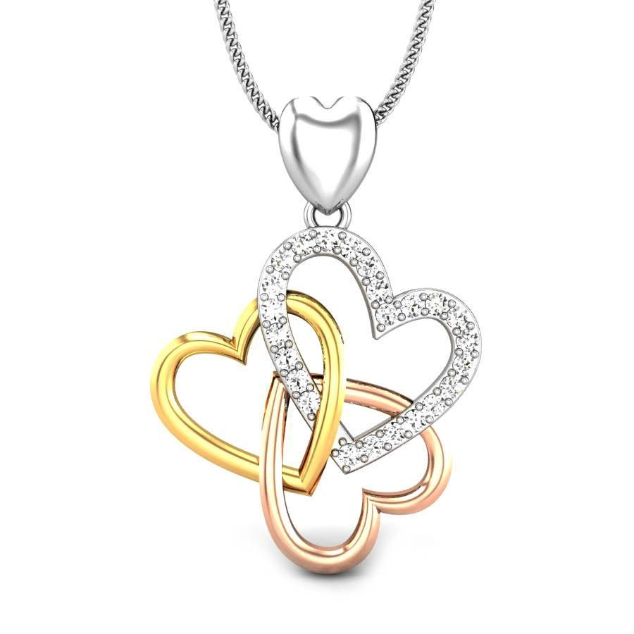 Three to tango diamond pendant diamond pendants pinterest