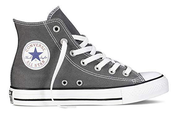 2fb70049c41055 Converse Chuck Taylor All Star Hi Top Charcoal Canvas Shoes men s 15 B(M)  US Women   13 D(M) US Men
