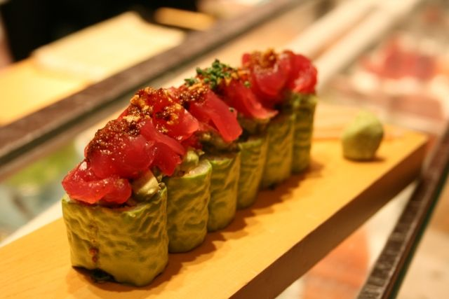 The Infamous Mateo Roll At U Dallas Sushi