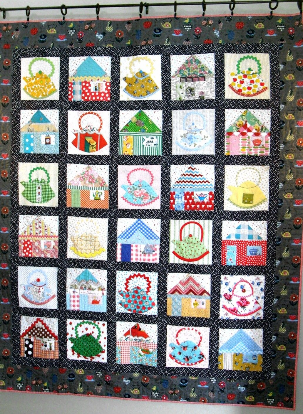 Kettles In The Kitchen Quilt Pattern  Quilt patterns, Quilts